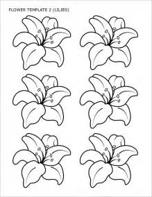 Tulip Flower Template by 8 Flower Templates