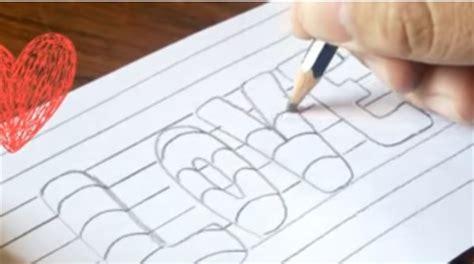 imagenes chidas que se puedan dibujar c 243 mo aprender a dibujar letras paso a paso todos los