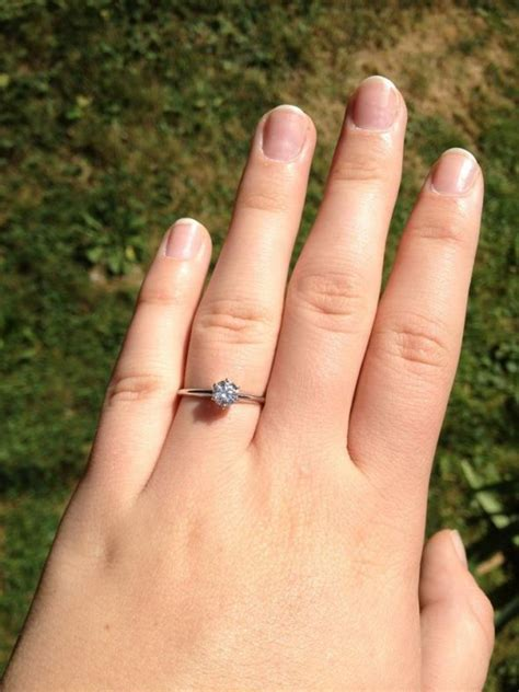 5 Rings For Your Pretty Fingers by 5 Ct Ring Wedding Promise Engagement