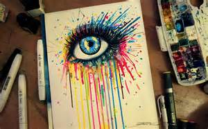 colorful things to draw rainbow splash by pixiecold on deviantart