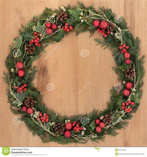 decorative wreath stock  image