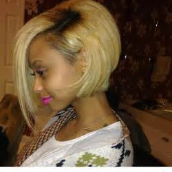 Straight bob hairstyles for black women with honey gold tones