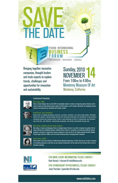 Miis Mba Iep Start Date by Business Event Invitation Www Imgkid The Image Kid