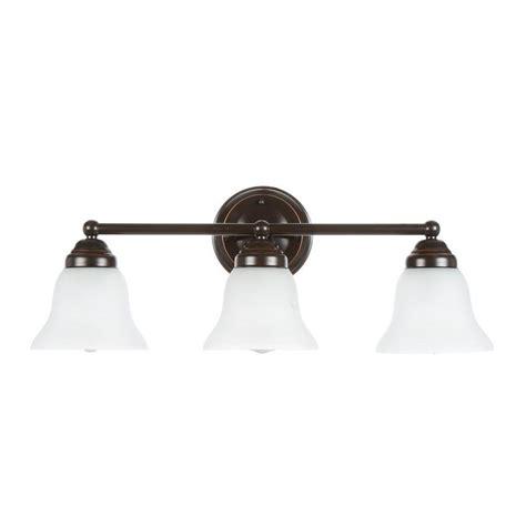 rubbed bronze vanity light fixtures hton bay ashhurst 3 light rubbed bronze vanity bath