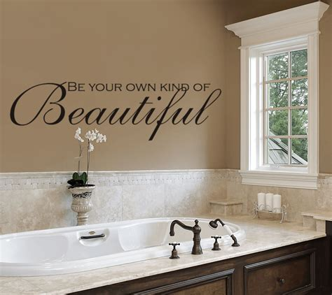 different ways how to decorate a bathroom wall
