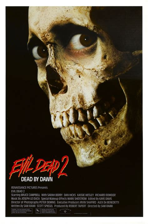 film of evil dead this week in horror movie history evil dead 2 dead by