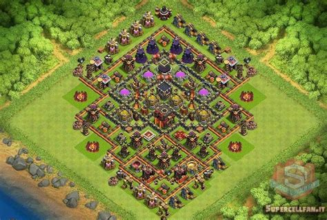 coc village layout th10 top 12 migliori layout farming per th10 supercell italia fan
