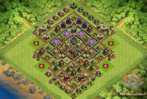 clash of clans th10 village layout top 12 migliori layout farming per th10 supercell italia fan