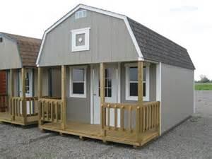 loft barns garden sheds ranchers mini lofted cabins