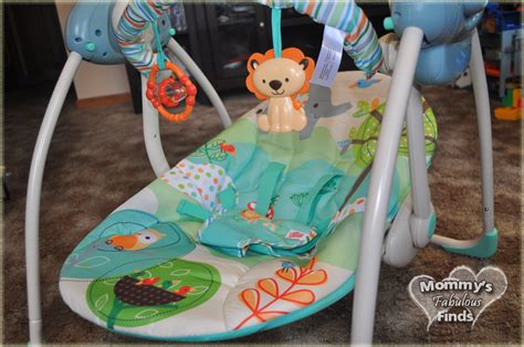 playful pals portable swing bright starts playful pals portable swing making mom
