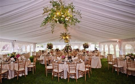 gold chiavari chairs marquee tent wedding