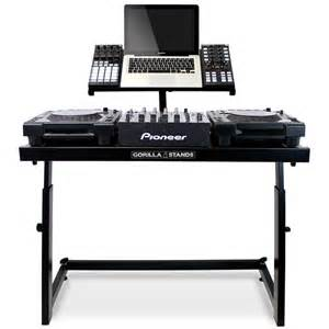 Turntable Desk Gorilla Ds 1 Dj Deck Stand Cdj Turntable Mixer Laptop Dj