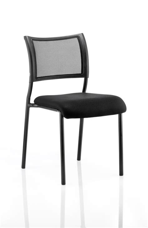 Stackable Conference Chairs - brunswick mesh back conference stackable meeting visitor