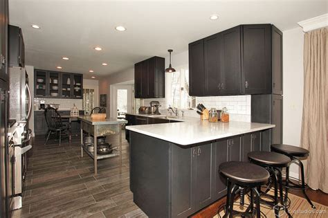 houzz black kitchen cabinets black kitchen cabinets contemporary kitchen seattle