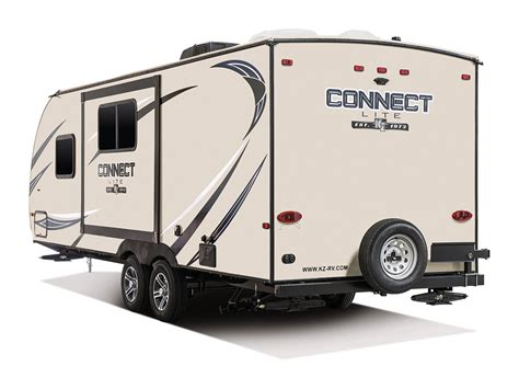 connect lite c201rb ultra lightweight travel trailer k z rv 2017 connect lite c211bh ultra lightweight travel trailer