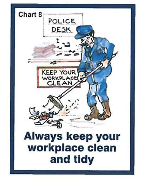 How To Keep Your The by Charts Always Keep Your Workplace Clean And Tidy