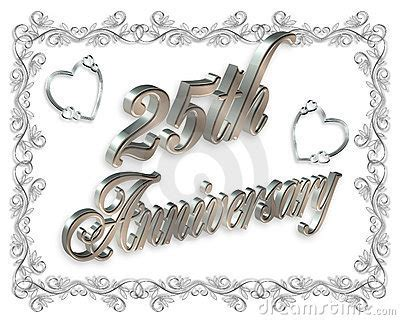 Free 25th Wedding Anniversary Clip Art ? 101 Clip Art