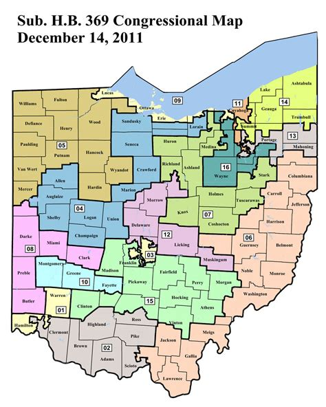 house district map ohio state representative districts map