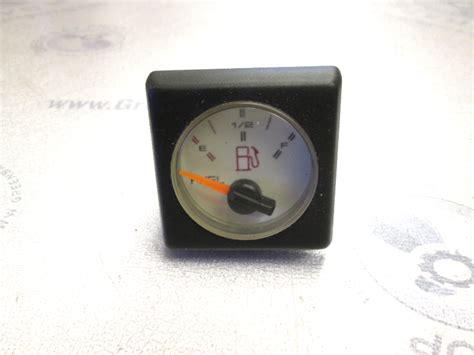 boat gauges square white face square fuel gauge 1990 bayliner capri green