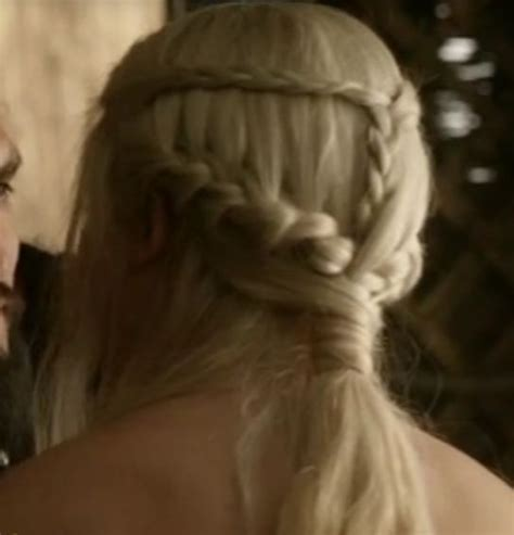 hairstyles khaleesi 26 best images about tv show hairstyles on pinterest