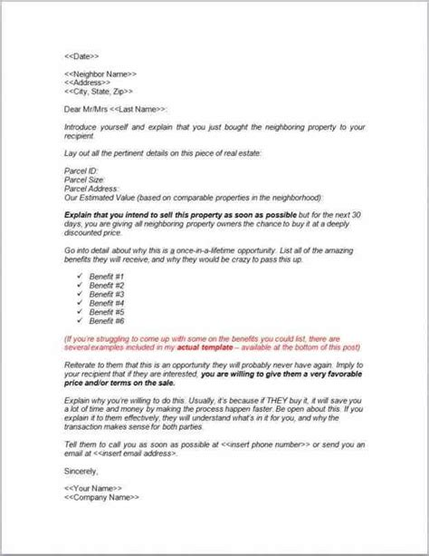 Letter Of Intent To Sell Home Template sle letter of intent to sell property sle templatex1234