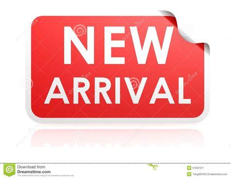 New Arriv new arrival sticker stock image image 31937371