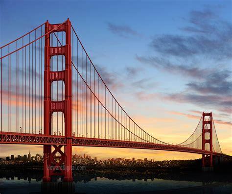 San Francisco by Golden Gate Bridge San Francisco Usa Found The World