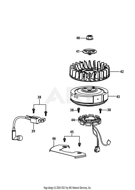 mtd   parts diagram  pjub ignition