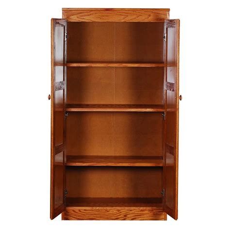 concepts  wood multi  storage pantry  dry oak