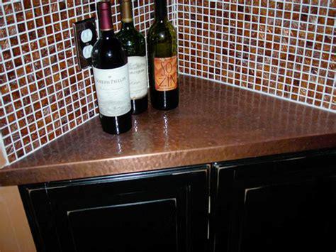 Corner Countertops by Copper Countertops Kitchen Bath Circle City Copperworks
