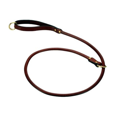 slip leads for dogs rolled leather slip lead 4 cotswold pet services