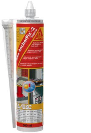 Sika Anchorfix2 Fast Curing Anchoring Adhesive 1 sika anchorfix 2 tropical 300ml technical beacons for trading