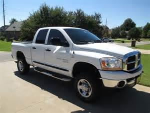 Used Dodge 2500 Diesel 4x4 Sell Used 2006 Dodge Ram 2500 4x4 Diesel In Broken Arrow