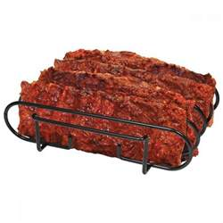 new rib rack non stick outdoor grilling barbecue grill