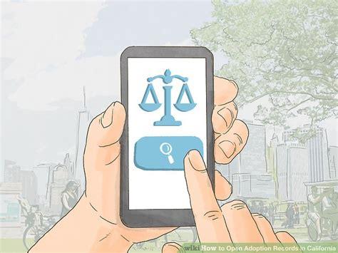 Adoption Records California 5 Ways To Open Adoption Records In California Wikihow