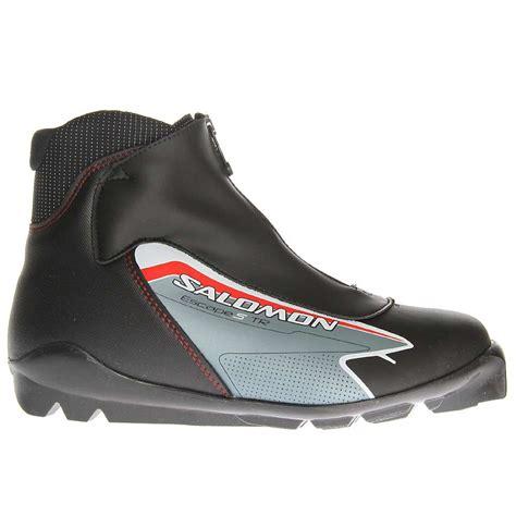 s cross country ski boots salomon escape 5 tr cross country ski boots 2012 s