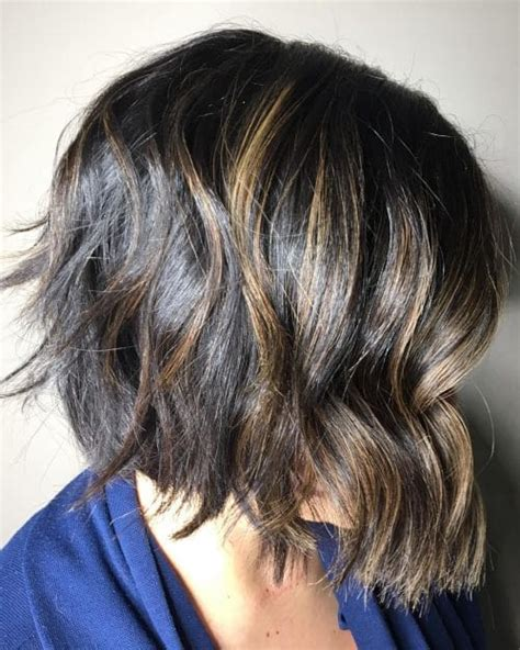 textured end bobs 31 layered bob hairstyles so hot we want to try all of them