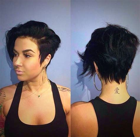 how can i even out my asymetrical pixie the 25 best asymmetrical pixie ideas on pinterest