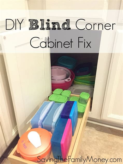 blind corner kitchen cabinet diy blind corner cabinet fix kitchen best of saving the