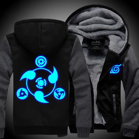 Jaket Cool Anime The Last hoodie new anime uchiha sasuke coat uzumaki jacket winter thick zipper