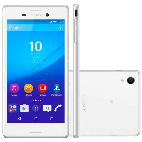 Hp Sony M4 Aqua 16gb celular sony xperia aqua m4 dual e2363 branco 16gb 13mp 4g palashop