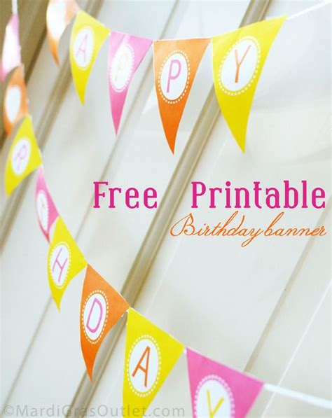 printable birthday banner with name best 25 pennant banners ideas on pinterest pennant