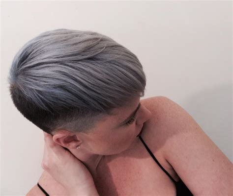 color short gray hair short hairstyles