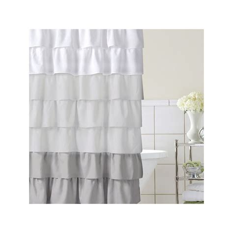 ombre ruffle shower curtain 25 best ideas about ombre fabric on pinterest quilt