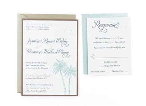 a7 pocket card template beachy free wedding invitation template