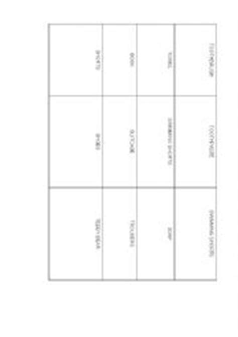 cue card template for pages worksheets cue cards