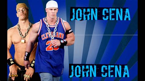 theme songs john cena john cena old wwe theme song basic thuganomics with