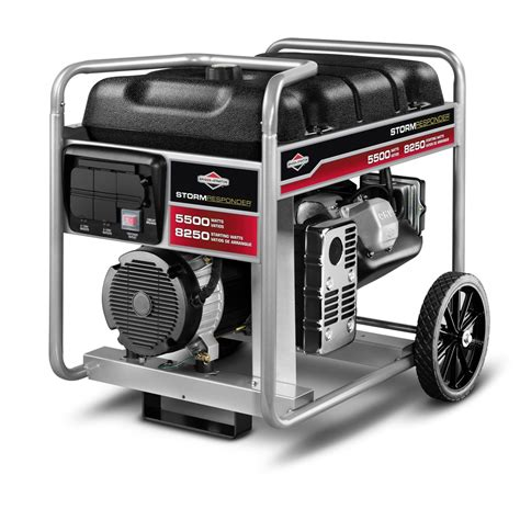 shop briggs stratton 5500 running watts portable