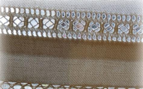 bricolle tende in tela di canapa