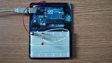 Arduino Blink Led Blinking An Led Tutorial 2 How To Make Lights Blink